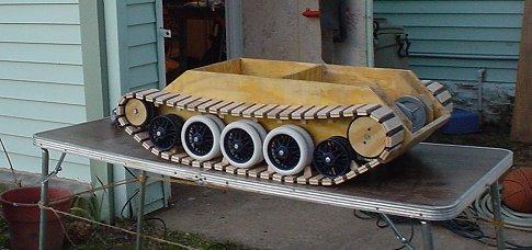 Как сделать самодельные гусеницы для танка